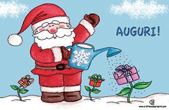 Biglietti Buon Natale Bambini.Buon Natale Babbo Natale Abbigliamento Per Bambini Cristiana De